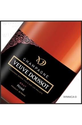 Champagne Brut Rose Veuve Doussot