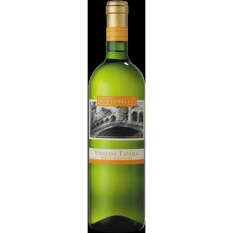 Portobello Vino da Tavola white semi-sweet