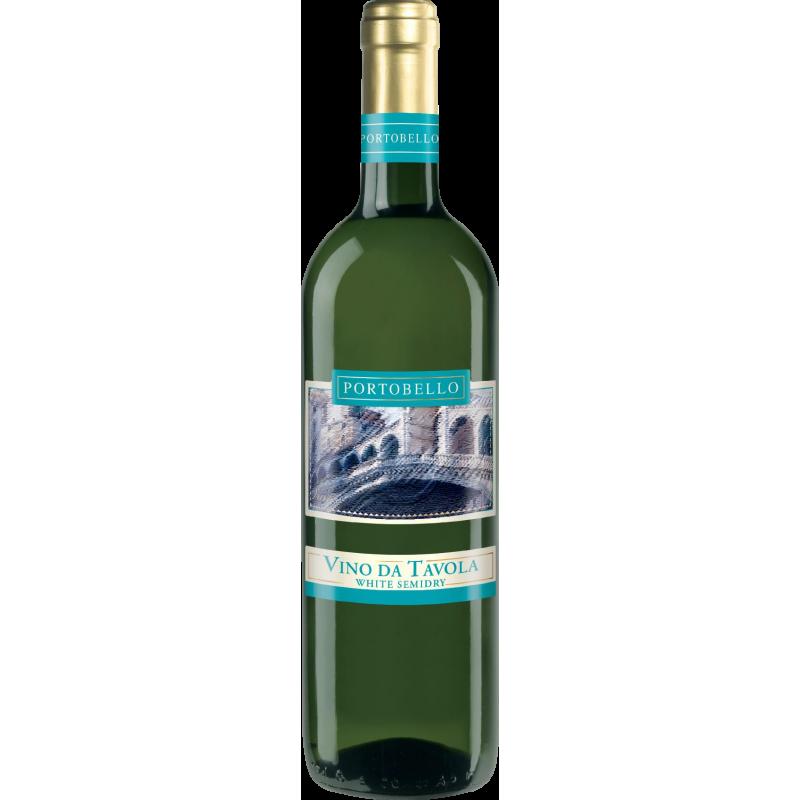 Portobello Vino da Tavola white semi-dry