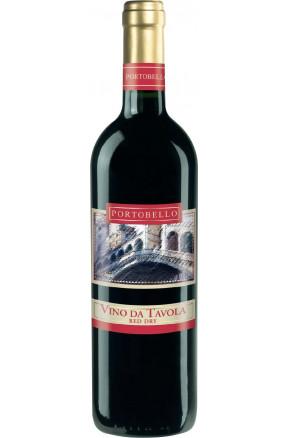Portobello Vino da Tavola red dry