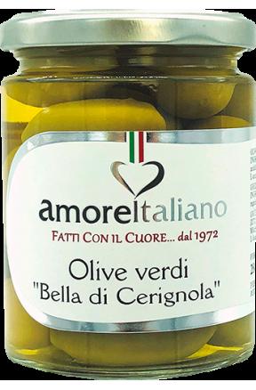 Oliwki zielone Bella Cerignola Amore Italiano 314g
