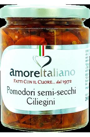 Pomidory półsuszone Ciliegino Amore Italiano 314g
