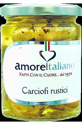 Serca karczochów Rustici Amore Italiano 314g