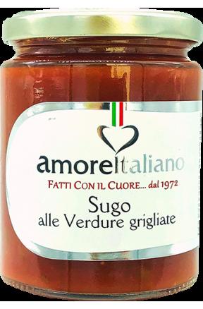Sos z grillowanymi warzywami Amore Italiano 314g