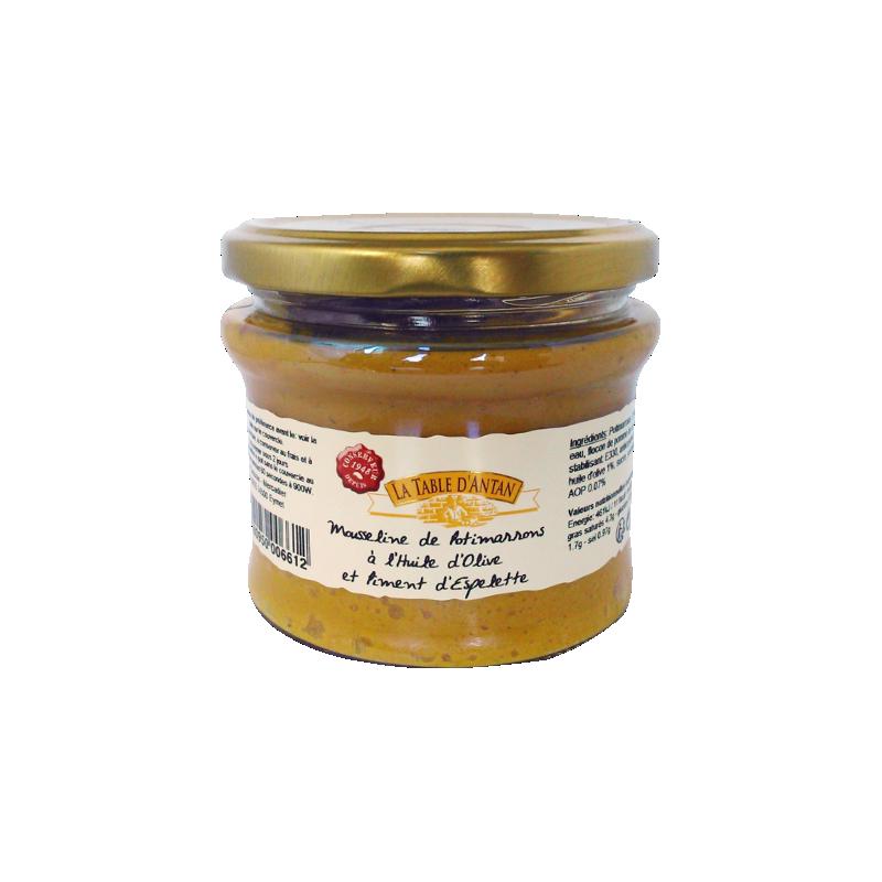 Mus dyniowy z oliwą i chili La Table d'Antan 180g