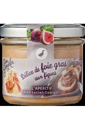 Foie gras z figami Lucien Georgelin 100g