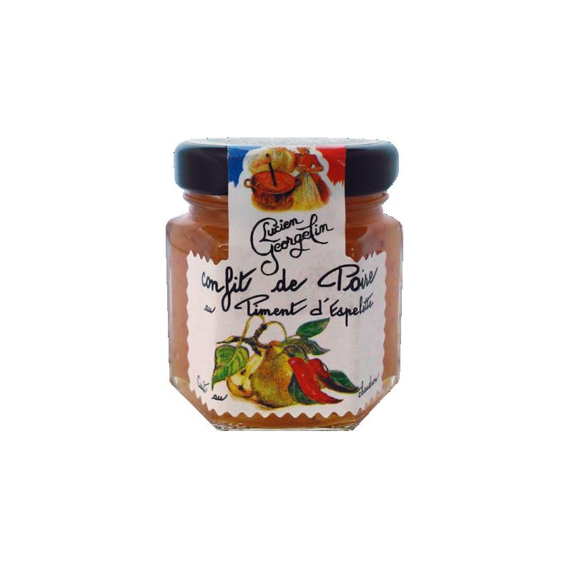 Konfitura gruszkowa z papryczką chili Lucien Georgelin 50g
