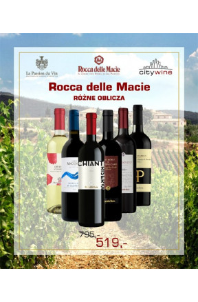 Rocca delle Macie - różne oblicza