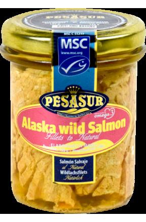 Filety z dzikiego łososia Pesasur 195g