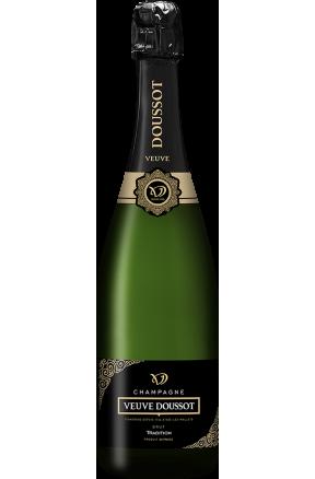 Champagne Tradition Brut Veuve Doussot 37,5 cl