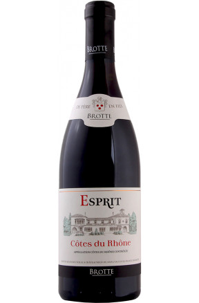 """Côtes du Rhône """"Esprit Barville"""" rouge"""